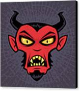 Mad Devil Canvas Print by John Schwegel