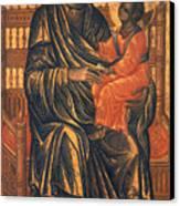 Madonna Icon, 13th Century Canvas Print by Granger