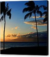 Mai Ka Aina Mai Ke Kai Kaanapali Maui Hawaii Canvas Print by Sharon Mau