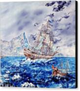 Maiden Voyage Canvas Print by Richard Barham