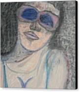 Maine Woman Canvas Print by Marwan George Khoury