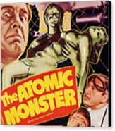 Man Made Monster, Aka The Atomic Canvas Print by Everett