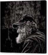 Man With A Beard Canvas Print by Bob Orsillo