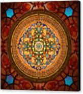 Mandala Arabia Canvas Print by Bedros Awak