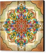 Mandala Birds Canvas Print by Bedros Awak