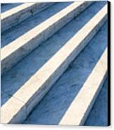 Marble Steps, Jefferson Memorial, Washington Dc, Usa, North America Canvas Print by Paul Edmondson