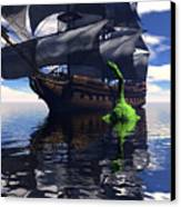 Mariner's Nightmare Canvas Print by Claude McCoy