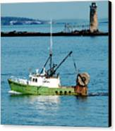 Maritime Canvas Print by Greg Fortier