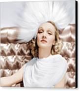 Marlene Dietrich, Ca. 1930s Canvas Print by Everett