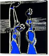 Martha And Mary Of Bethany Canvas Print by Gloria Ssali