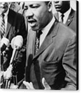 Martin Luther King, Jr. 1929-1968 Canvas Print by Everett