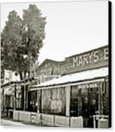 Mary's Bar Cerrillo Nm Canvas Print by Christine Till