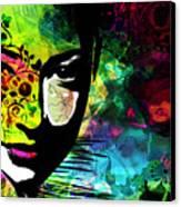Masking Ego Canvas Print by Ramneek Narang
