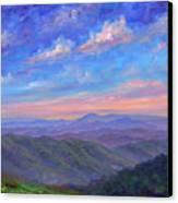 Max Patch North Carolina Canvas Print by Jeff Pittman