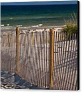 Mayflower Beach Canvas Print by Susan Cole Kelly