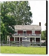 Mclean House Appomattox Court House Virginia Canvas Print by Teresa Mucha
