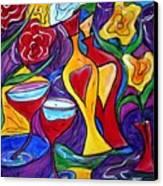 Medicine For Love  Canvas Print by Luiza Vizoli