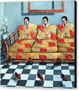 Meditation Canvas Print by Valerie Vescovi
