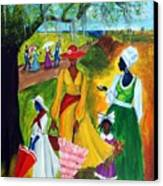 Memorial Day Canvas Print by Diane Britton Dunham