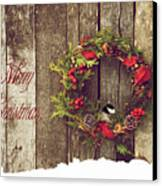 Merry Christmas. Canvas Print by Kelly Nelson
