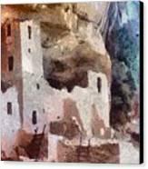 Mesa Verde Canvas Print by Jeff Kolker