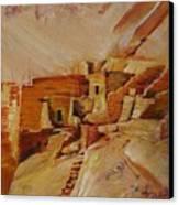 Mesa Verde Canvas Print by Summer Celeste