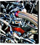 Metal Matter Canvas Print by Linda  Parker
