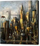 Metropolis Canvas Print by Philip Straub