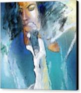 Michael Jackson 04 Canvas Print by Miki De Goodaboom