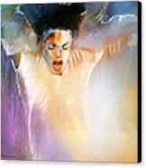 Michael Jackson 09 Canvas Print by Miki De Goodaboom