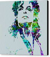Michael Jackson Canvas Print by Naxart Studio