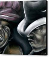 Michael Jackson Canvas Print by Zach Zwagil