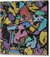 Microscopic Meteorite Canvas Print by Laura Laughren
