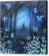 Midnight Canvas Print by Amanda Clark