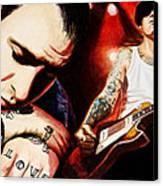 Mike Ness 'nuff Said Canvas Print by Al  Molina