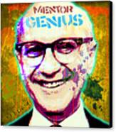 Milton Friedman Canvas Print by Gary Grayson