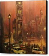 Milwaukee City Hall Canvas Print by Tom Shropshire