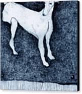 Missing Canvas Print by Kathryn Siveyer