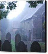 Misty St Budeaux Canvas Print by Donald Davis
