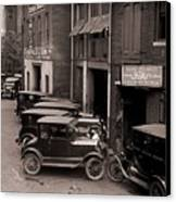 Model Ts, And One More Luxurious Canvas Print by Everett