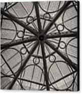 Modern Geometry Canvas Print by Charles Dobbs