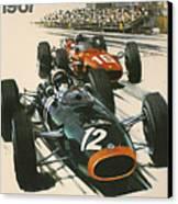 Monaco Grand Prix 1967 Canvas Print by Georgia Fowler