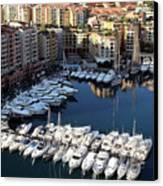 Monaco Canvas Print by Tom Prendergast