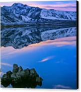 Mono Lake Twilight Canvas Print by Inge Johnsson