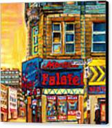 Monsieur Falafel Canvas Print by Carole Spandau
