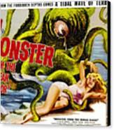 Monster From The Ocean Floor, Anne Canvas Print by Everett