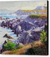 Monteray Bay Morning 1 Canvas Print by Gary Kim