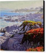 Monteray Bay Morning 2 Canvas Print by Gary Kim