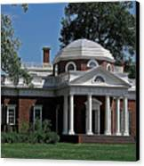 Monticello Canvas Print by DigiArt Diaries by Vicky B Fuller