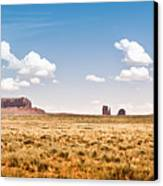 Monument Valley Wide Angle Canvas Print by Ryan Kelly